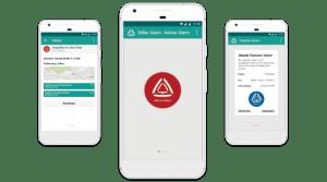 Stiller Alarm - Mitarbeitersicherheit Mobile App