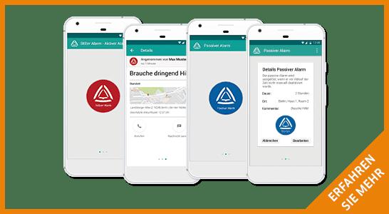Stiller Alarm Alarmierungsapp - zur mobile App - mehr erfahren