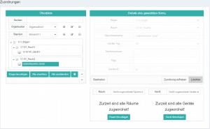 Stiller Alarm - Ansicht Web-Portal Administration