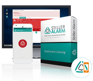 Stiller Alarm Alarmierungssoftware Standard Version Computer und Smartphone App