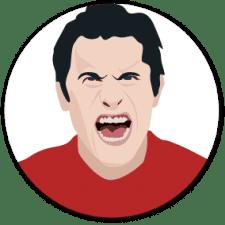Stiller Alarm Deeskalationstraining Aggressiver Mann