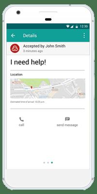 Stiller Alarm Mobile App Active Alarm Step 4