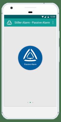Stiller Alarm Mobile App Passive Alarm Step 1