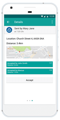 Stiller Alarm Mobile App Passive Alarm Step 6