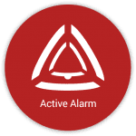 Stiller Alarm mobile_Active Alarm button