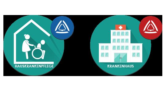 Stiller Alarm Gesundheitsbranche - Mobile App - Mitarbeitersicherheit im Bereich Gesundheit – in der Klinik und zu Hause bei Ihren Patienten