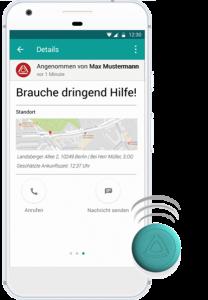 Stiller Alarm Mobile Alarm App mit Alarm Button