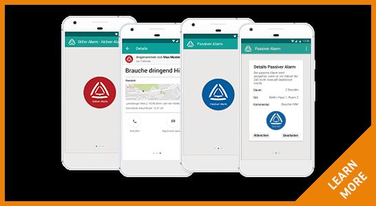 Stiller Alarm Button Mobile Alert App