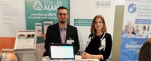 Stiller Alarm auf dem Kongress Pflege in Berlin