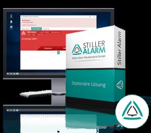 Stiller Alarm Alarmierungssoftware Standard Version Computer