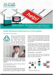 Stiller Alarm Broschüre Alarm Stationäre Software Downloads